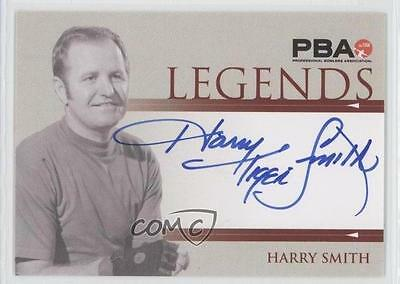 2008 Rittenhouse PBA Legends Autographs #N/A Harry Smith Auto Bowling Card 0b0