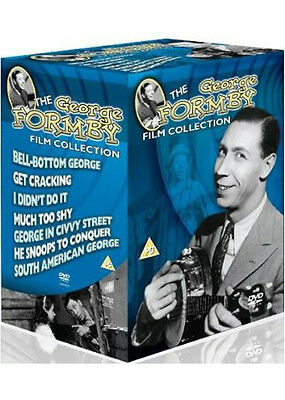 THE GEORGE FORMBY FILM COLLECTION dvds SEALED/NEW 7 Films/Movies 5035822897519