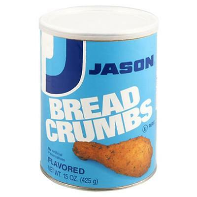 Jason Bread Crumbs Flavored 15 Oz -Pack of 12