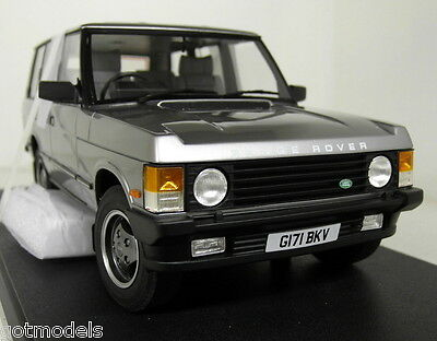 Cult 1/18 Scale CML017-1 Range Rover Vogue Classic 1990 Grey met Resin Model Car
