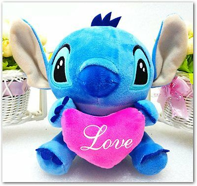 Peluche Stitch plush toy 20 cm love