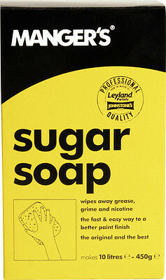 Sugar Soap Powder- Cleans & Prepares Surfaces 450g (Makes 10 Litres)- Manger's