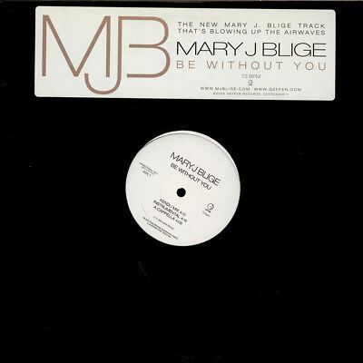 "Mary J. Blige - Be Without You (Vinyl 12"" - 2005 - US - Original)"