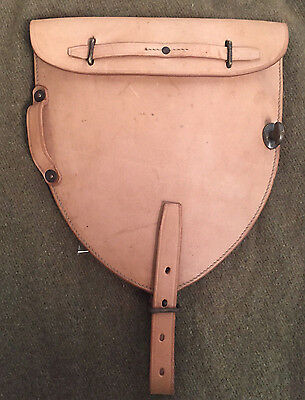 M1912 Cavalry Leather Entrenching Tool Carrier for Shovel Head