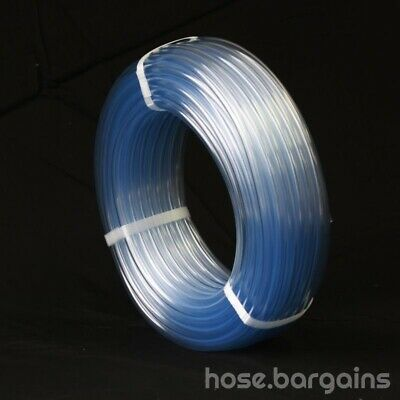 Clear Vinyl Tubing 10x15mm x 30m – Food Grade PVC Plastic Tube AS2070 Water Hose