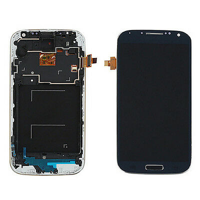 LCD Display Touch Screen Digitizer+Frame Replacement For Samsung Galaxy S4 i9505