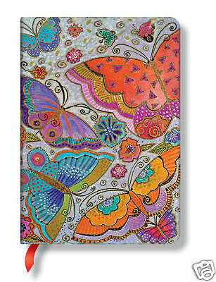 Paperblanks Laurel Burch Lined Journal Book Butterflies 5x7 Midi Size New