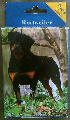 Rottweiler~Deck Of Playing Cards~Poker Rummy Hearts Bridge Solitaire