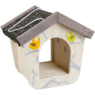 Mangeoire Feed House Funny pour oiseaux Flamingo