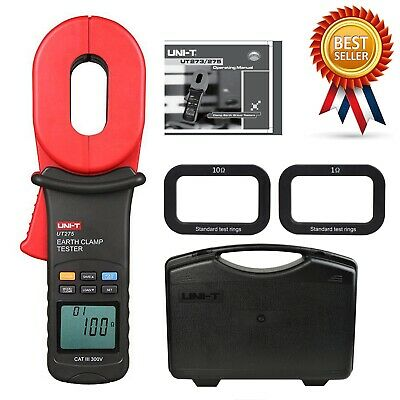 H● UNI-T UT275 Earth Ground Resistance Clamp Leakage Current Testers