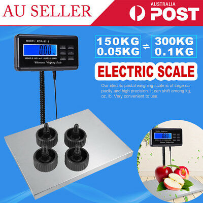 Digital Commercial Scales Platform Postal Shipping Scale Electronic Weight AU