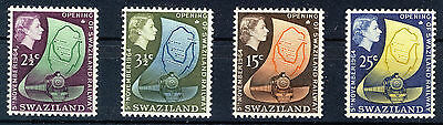 Swaziland 1964 Swaziland Railway Sg109/112 Plate Blocks Of 4 Mnh