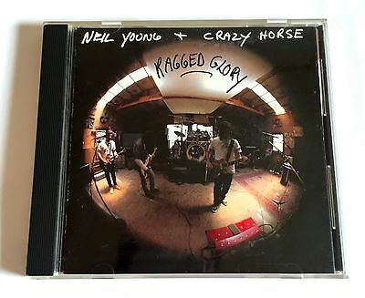 NEIL YOUNG + CRAZY HORSE Ragged Glory JAPAN 1st Press CD 1990 WPCP-3847