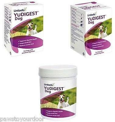 Lintbells YuDIGEST Dog Puppies Digestive Health Supplement Prone Tummy Troubles