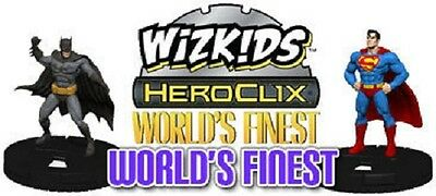 DC Heroclix World's Finest - JUSTICE LEAGUE ID CARDS (Choose from list)