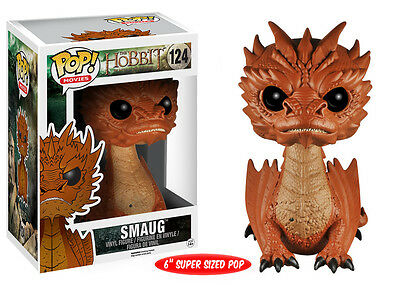 Funko Pop! Movies: Hobbit 3, Six-Inch Smaug Vinyl Action Figure Collectible Toy