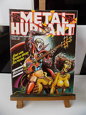 METAL HURLANT N° 22 couv. Voss