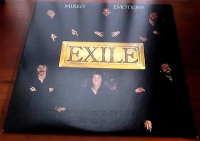 Exile   Mixed Emotions  1978    Warner Bros 3205   Rock   Viny LP    VG++