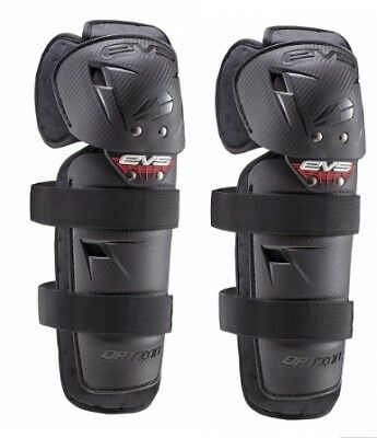 EVS Adult MX ATV Option Knee Pads (Pair) One Size Fits All