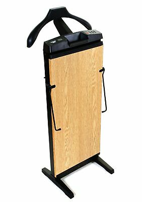 The Corby 7700 Trouser Press in Oak