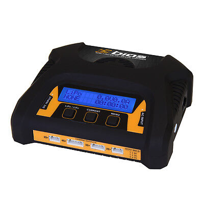 Bias 2 to 4 Cell AC/DC Dual 2S Port 3 Amp 40W RC LiPo Battery Balance Charger