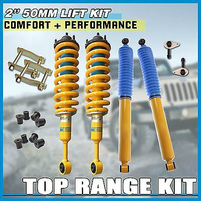 50Mm Suspension Lift Kit With Bilstein Shock For Toyota Hilux Kun26 06-On