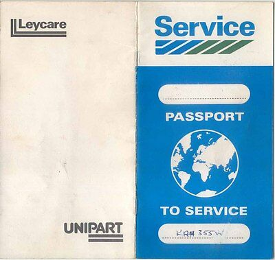 Leyland Passport to Service AKM 4639 1979 USED