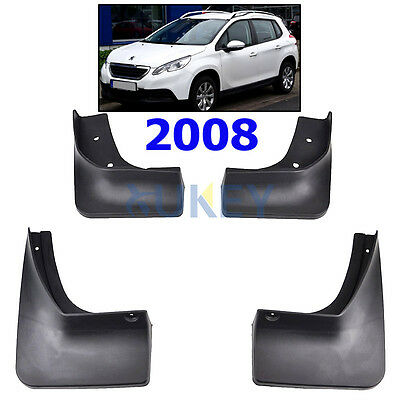 Front+Rear Mudflaps Set Fit For Peugeot 2008 Mud Flap Splash Guards Fender