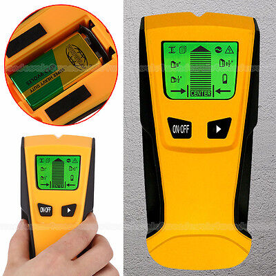 + Battery LCD Screen Stud Center Finder Metal and AC Live Wire Detector UK Stock