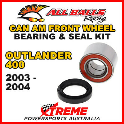25-1520 Atv Front Wheel Bearing Kit Can-Am Can Am Outlander 400 2003-2004