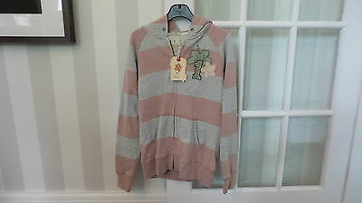 Scotch R'belle Striped Pink Jacket Girls Age 12 Brand New RRP £71 100% Cotton