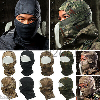 Motorcycle Balaclava Camouflage Army Winter Ski Bike Cycling Full Face Mask Hat