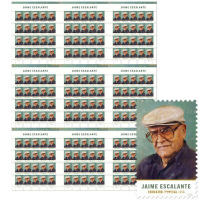 USPS New Jaime Escalante Press Sheet with die cuts