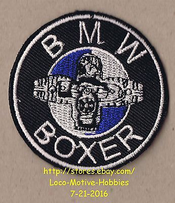 LMH Patch Badge BMW BOXER Spinning Propeller 1979 2007 Motorcycle Dark Blue Logo