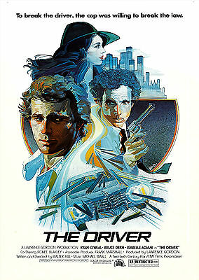 The Driver (1978) - A2 A3 A4 POSTER ***LATEST BUY 1 GET 1 FREE OFFER***