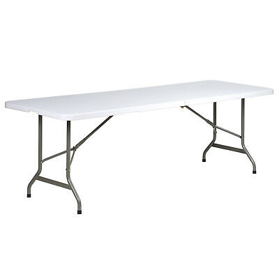 Hartleys Large 8Ft Folding Trestle Table Outdoor Camping/fete/garden/catering