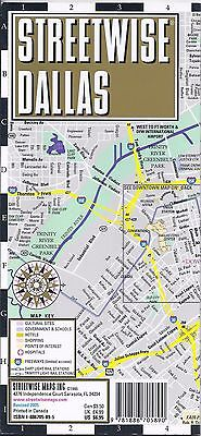Map of Dallas, Texas, TX, by Streetwise