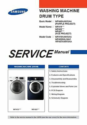 Samsung wf337aaw wf337aag wf337aal wf337aar washer service manual samsung wf419aaw wf409snl wf407anw washer service manual repair guide fandeluxe Image collections