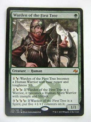 MTG Magic Cards: WARDEN OF THE FIRST TREE # 14G68