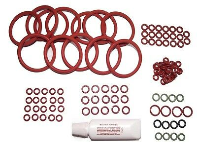 Dichtung O-Ring DeLonghi Kaffeevollautomat ESAM Thermoblock 102 teiliges-Set