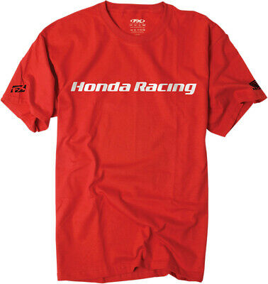Factory Effex Licensed Honda Racing T-Shirt Red Mens All Sizes