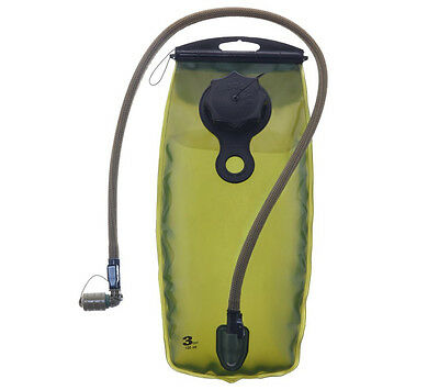 Source Tactical wxp 3 Liter Coyote Hydration Reservoir with Storm Valve Black