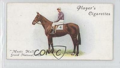 1933 Player's Derby and Grand National Winners Tobacco Base #40 Music Hall 0a1