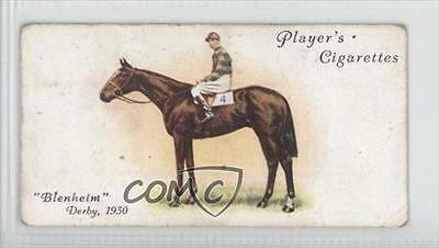 1933 Player's Derby and Grand National Winners Tobacco Base 23 Blenheim Card 0a1