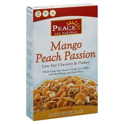 PEACE CEREAL CEREAL LF MNGO PEACH-10 OZ -Pack of 6