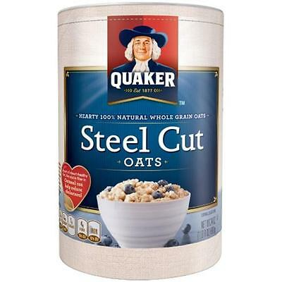 Quaker Steel Cut Oats 30 Oz (Pack of 12)