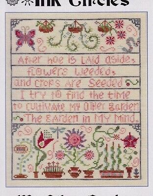 My Other Garden - sweet cross stitch chart - Ink Circles