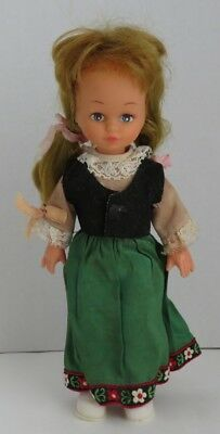 Vintage European Doll Made In Hong Kong                    (Inv11047)