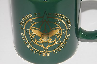 Cub Boy Scout Friends of Scouting 2000 Character Counts Coffee Mug