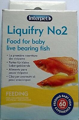 Interpet Liquifry 2 For Live Bearing Fish 0755349003020